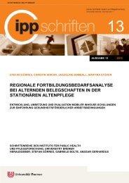 Regionale Fortbildungsbedarfsanalyse bei alternden ... - IPP
