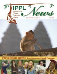 2012 May - International Primate Protection League