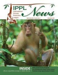 2011 December - International Primate Protection League