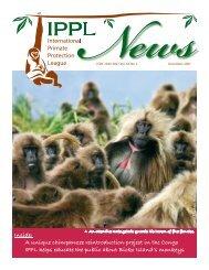2007 December - International Primate Protection League