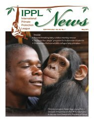 2011 May - International Primate Protection League