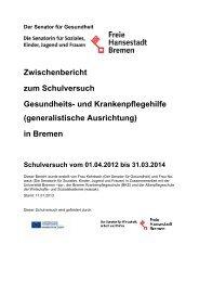 Zwischenbericht (PDF, 276KB) - IPP - Universität Bremen