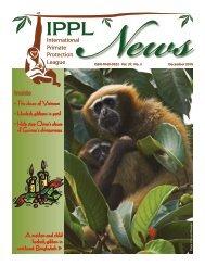 2010 December - International Primate Protection League