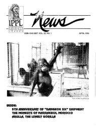 APRIL 1995 1 ISSN-1040-3027, VOL. 22, NO. - International Primate ...