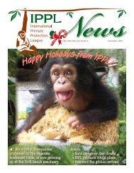 2009 December - International Primate Protection League