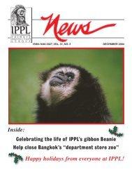 IPPL News Dec04 - International Primate Protection League