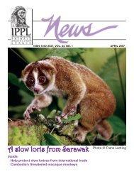 2007 April - International Primate Protection League
