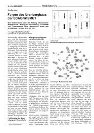 Folgen des Uranbergbaus der SADAG WISMUT - ippnw
