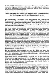 Aufruf des Koordinationskreises - ippnw