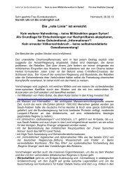 Syrienaufruf von Christoph Krämer - ippnw
