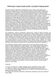 Deformacja i rozpad zespołu cząstek w przepływie ... - IPPT PAN