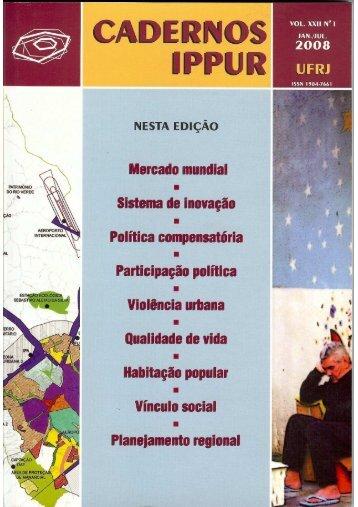 La globalización imperialista y los territorios ... - Ippur - UFRJ