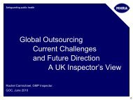 Global Outsourcing - Current Challenges and Future Direction - IPQ