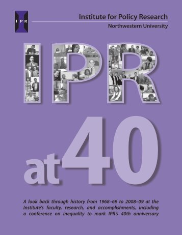 pdf - Institute for Policy Research - Northwestern University