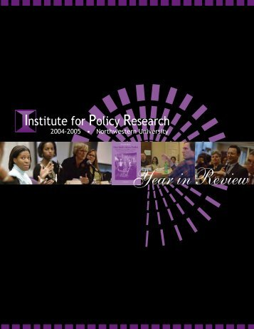 Published Articles and Chapters 2004-2005 - Institute for Policy ...