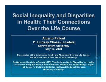 Presentation - Institute for Policy Research - Northwestern University