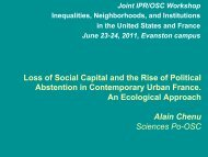 Loss of Social Capital and the Rise of Political Abstention in ...