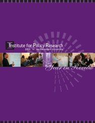 Download - Institute for Policy Research - Northwestern University