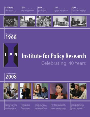IPR - Institute for Policy Research - Northwestern University