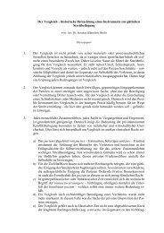 Der Vergleich – historische Betrachtung eines Instruments zur ...