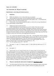 1 Study JAI A3/02/2002 The Netherlands: Dr. Mirjam Freudenthal ...