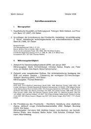 Schriftenverzeichnis Gebauer 10-2008 - Institut für ausländisches ...