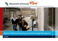 Masters Intellectual Property Law and Knowledge ... - IPRsonline.org