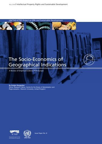 The Socio-Economics of Geographical Indications, A Review ... - Ictsd
