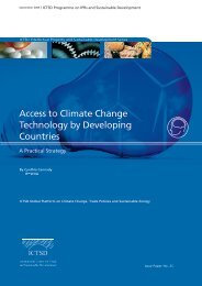 Access to Climate Change Technology by ... - IPRsonline.org