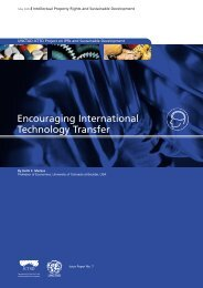 Encouraging International Technology Transfer - IPRsonline.org