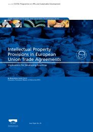 Intellectual Property Provisions in European Union ... - IPRsonline.org
