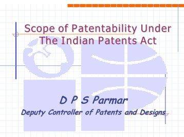Patentability of invention - Ictsd