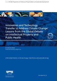 Innovation and Technology Transfer to Address ... - IPRsonline.org