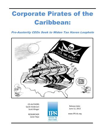 Download Corporate Pirates of the Caribbean - Institute for Policy ...