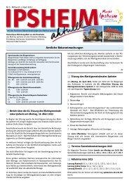 Ausgabe vom 03.04.2013 - Markt Ipsheim