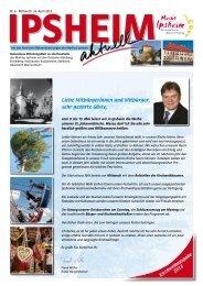 Ausgabe vom 24.04.2013 - Markt Ipsheim