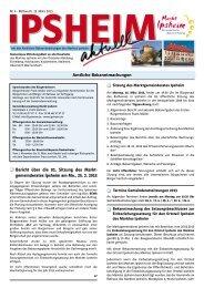 Ausgabe vom 13.03.2013 - Markt Ipsheim