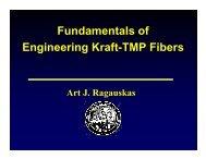 Fundamentals of Engineering Kraft-TMP Fibers