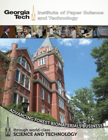 IPST Brochure - Institute of Paper Science and Technology ...