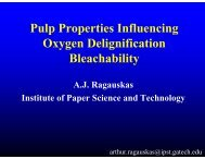 Pulp Properties Influencing Oxygen Delignification Bleachability