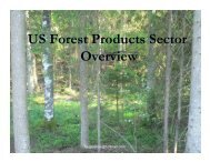 US Forest Products Sector Overview