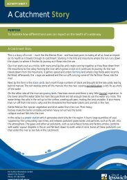 Activity Sheet 7 - A Catchment Story - Ipswich City Council