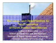 The Challenges and Opportunities for Next Generation of Forest ...