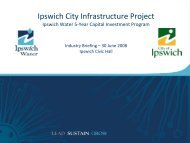 Industry briefing june - Ipswich City Council