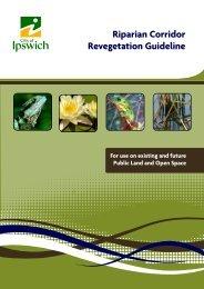 riparian corridor revegetation guidelines.cdr - Ipswich City Council