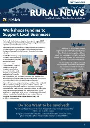 RURAL NEWS - Ipswich City Council - Queensland Government