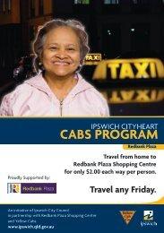 CABS PROGRAM - Ipswich City Council