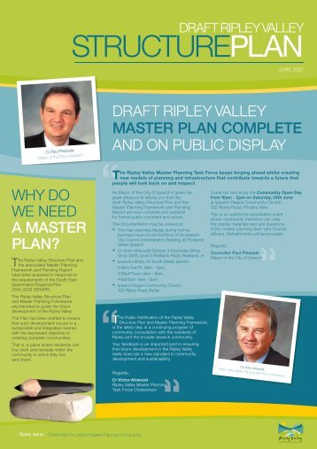 a master plan? - Ipswich City Council