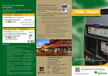 Parking Meter Brochure - Ipswich City Council