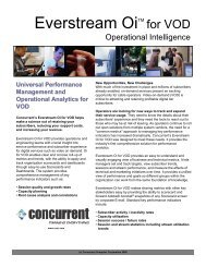 Universal Performance Management and Operational Analytics for ...